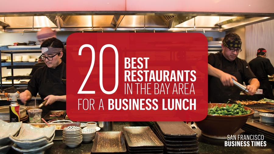 SF Business Time 20 Best Places for a Business Lunch